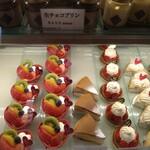 145663181 - 美味しそうなケーキがズラリ〜!