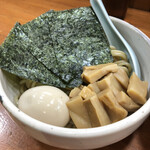 麺匠 ヒムロク - 料理写真:つけそば 中盛・特製トッピング 1/2
