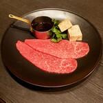 恵比寿焼肉 うしごろバンビーナ - ☆しっとり赤身&フォアグラ(#^.^#)☆