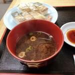 天ぷら食堂 魚徳 - 赤だし