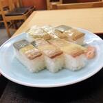天ぷら食堂 魚徳 - バッテラ寿司