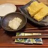 石臼自家挽き蕎麦 かめや - 料理写真:ふわふわ卵焼き〜