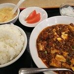Shahoushurou - ランチメニュー マーボー豆腐