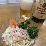 宮前食堂 - 料理写真:スパサラ