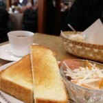 珈琲家MINIZA - 厚切りトースト
