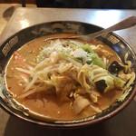 がんちゃん - 料理写真:辛口スタミナみそラーメン