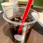 ブックハウスカフェ - アイスコーヒー