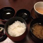 みやじまの宿 岩惣 - 御飯