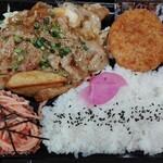 あけぼの - 豚バラ焼弁当
