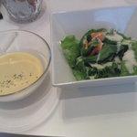 バトラーズカフェ - 休日ランチ(サラダ・スープ)