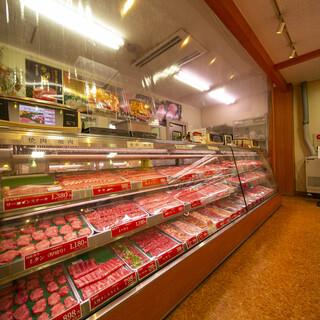 肉卸直営ならではの質の高さ、価格、豊富な種類!