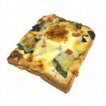 イトキト - ほうれん草のピザ(280円)