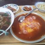 聚福源 - 料理写真:日替わりランチ かに玉¥680