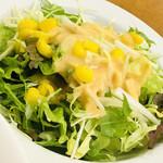 レストランBON - 野菜サラダも手抜きなし