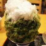しもきた茶苑大山 - 抹茶あずき(800円)♥(2012/7)