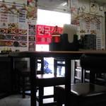 名華園料理店 - ハングル文字が