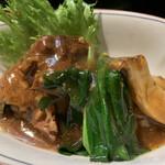 和風料理 つくし館 - 豚の角煮