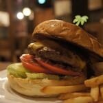 Island Burgers - テリヤキチーズバーガー