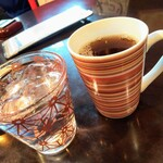 韓国家庭料理 唐辛子 - 食後のコーヒー