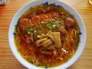 黄金の福ワンタン まくり - パーコー麺