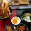 ことことキッチン - 料理写真:冬の銀座天丼+ミニうどん1,380円