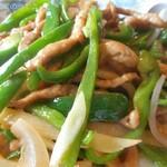 中国料理 富美 - チンジャオロース