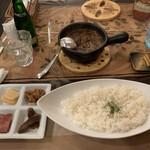 Cray pod curry Ohmiya Seiuemon - 欧風土鍋カレー 近江屋清右衛門セットコース 2,000円
