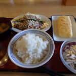 龍野堂本食堂 - この日のマイセット