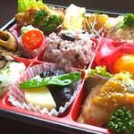 キッチンガーデン・ヨンズ - 料理写真:季節いろどり弁当