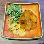 Ginzakamonka - 牡蠣のチリソース