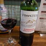 かれんす居酒屋 - 赤ワイン