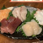 九州地鶏屋 鍋弁慶 - 旬の五点盛り