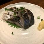九州地鶏屋 鍋弁慶 - 北釧鯖の炙り〆さば