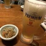 九州地鶏屋 鍋弁慶 - 生ビール