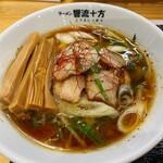 ラーメン 響流十方 - 料理写真:ネギラーメン(醤油)、メンマトッピング