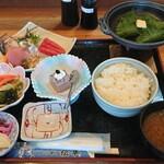 磯の香亭 - さんが御膳¥1500+税