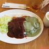 かつめし いろはーず - 料理写真:ビーフかつめし(赤・緑ソース) 1200円(税抜)