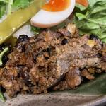 バグダッド - 黒豆入りラムレバーキーマ