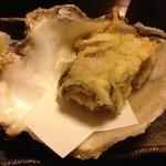 球寿し - 夏牡蠣天ぷら