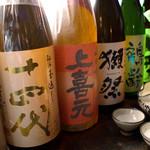 ひな一 - 貴重な日本酒、季節の日本酒などお食事にあったお酒をご用意しております。