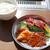 十勝ハーブ牛ホルモン MONMOM - 料理写真:十勝ハーブ牛  ホルモン&カルビ ランチ ¥1,400(税込)