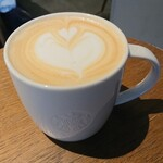 スターバックスコーヒー - ドリンク写真:ラテのショート¥374-