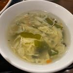 天府 - スープ