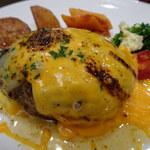 145755224 - 3種の焦がしチーズハンバーグ(200g)