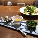 柳町 一刻堂 - ◆小鉢とサラダ