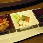 京鼎樓 - ランチ「レディースセット」前菜