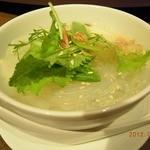 京鼎樓 - ランチ「レディースセット」春雨スープ