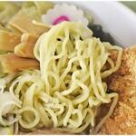 東武ラーメン - 多加水麺