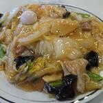 中華料理広東亭 - 料理写真:五目焼きそば 800円