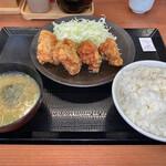 からやま - からやま定食・梅(650円)